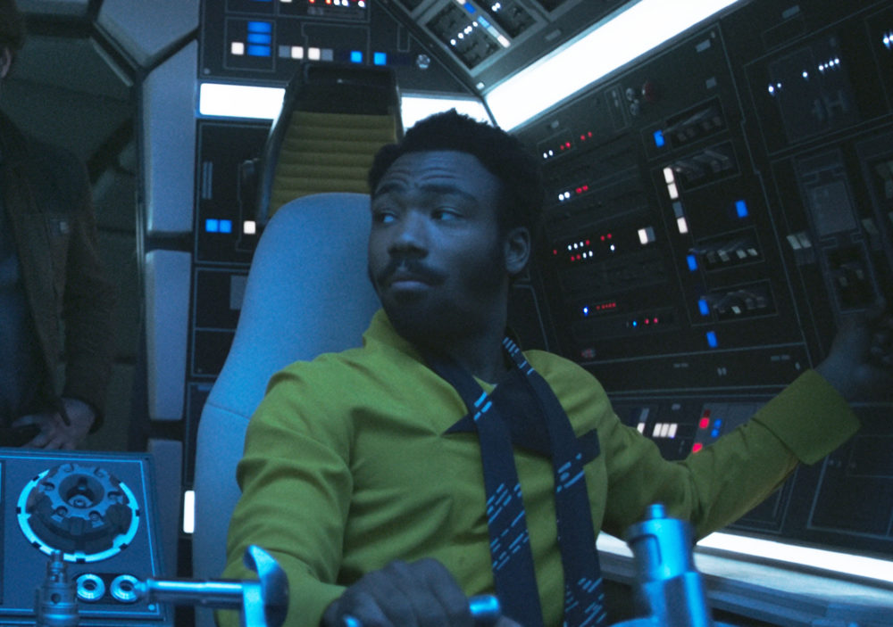 To celebrate landing the role of Lando in <em>Solo</em>, Donald Glover bought and ate an entire pizza