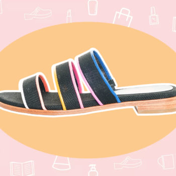 WANT/NEED: Rainbow sandals to wear from work to the pool, and more stuff you want to buy