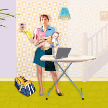 "Don't call me a ""Supermom"" — acknowledge how stress harms working mothers instead"