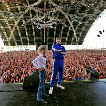 The Walmart Yodeling Boy performed at Coachella, and this is as good as it's ever going to get