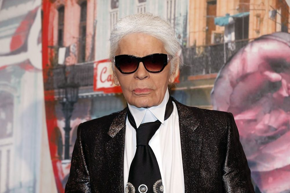 "Chanel's Karl Lagerfeld said that if models don't want to be groped, they should ""join a nunnery"""
