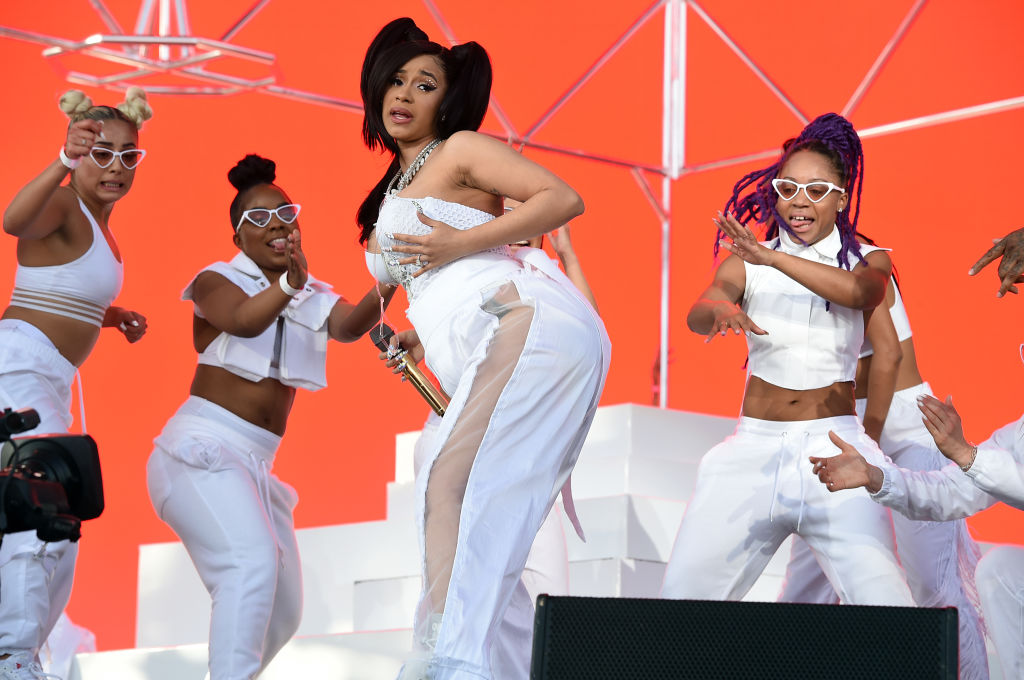 Twitter thinks Cardi B paid homage to this iconic performer during her Coachella set