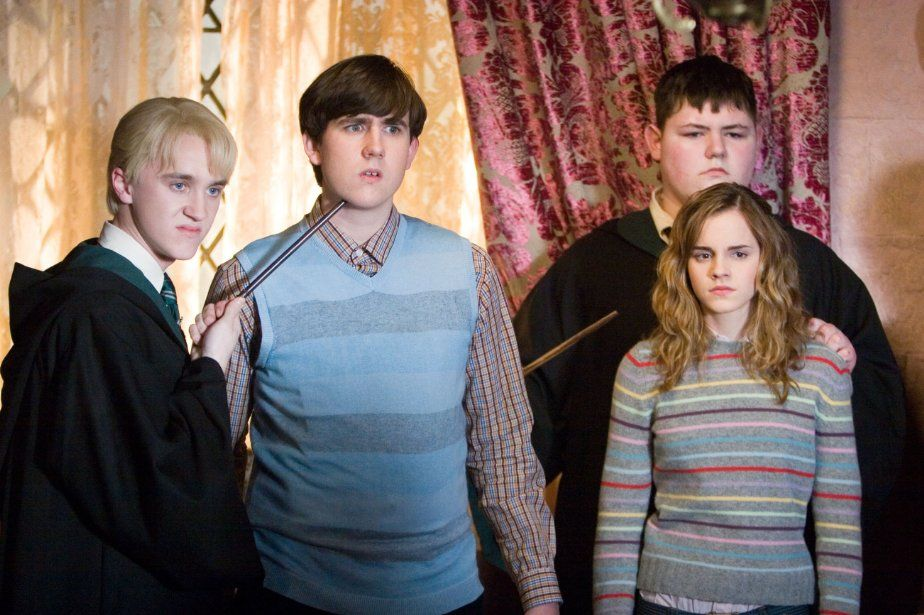 There was a mini Hogwarts reunion over the weekend, and the picture has us under its spell