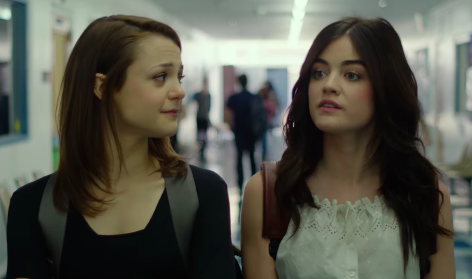 Netflix's latest original movie is all about Lucy Hale and a Donkey Kong bong
