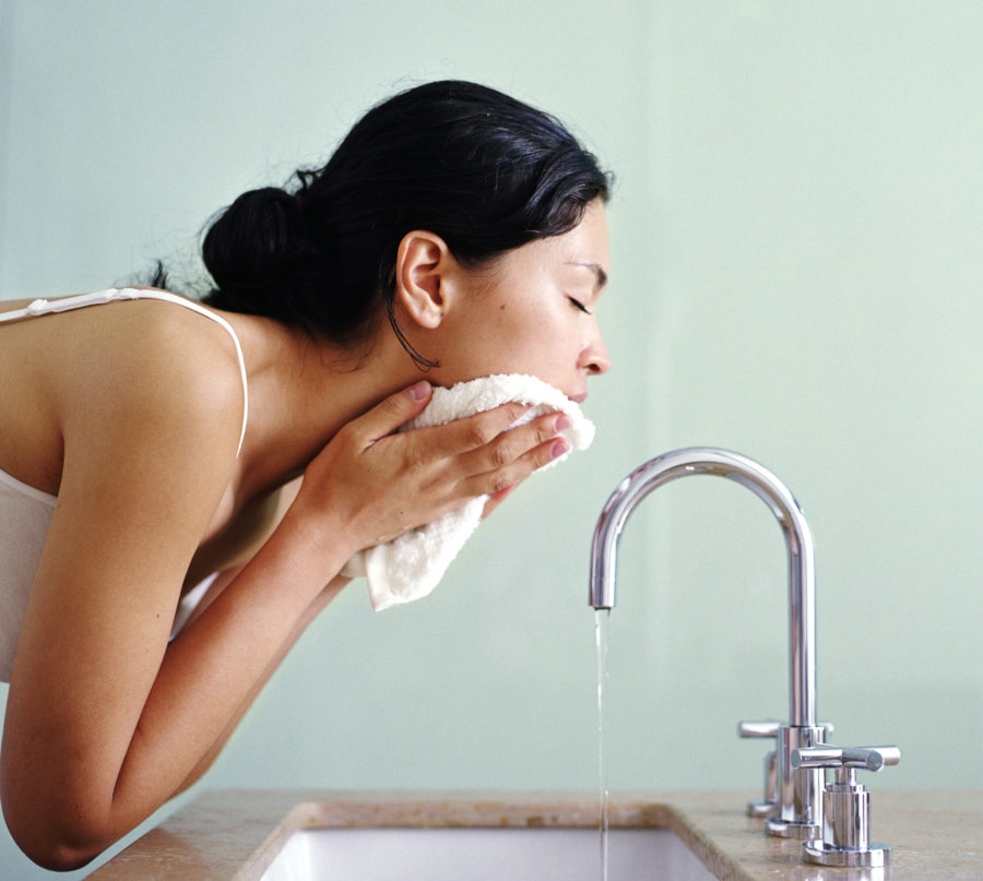 The common thing you're probably doing that causes acne