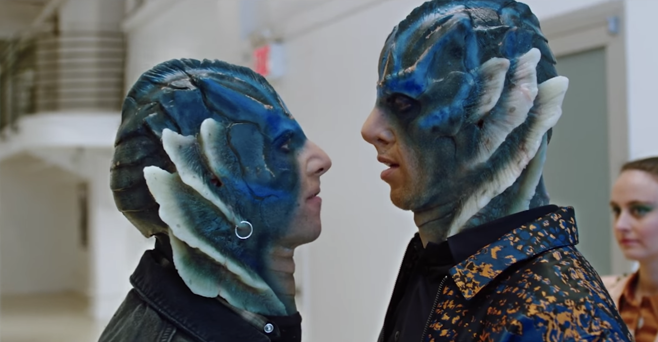 <em>SNL</em> cut a sketch about the <em>Shape of Water</em> merman and Adam Driver — and honestly, you need to see this to believe it