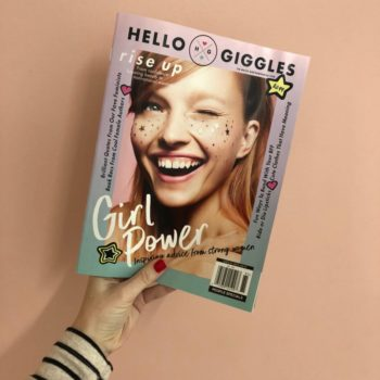 Introducing HelloGiggles Magazine, a version of HG you can hold in your hands