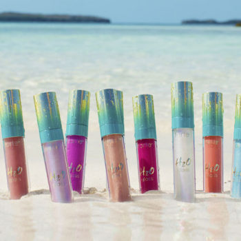 Tarte's new H20 Lip Gloss will add a splash of shine to your spring and summer makeup