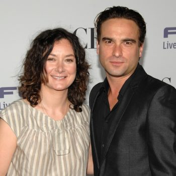 """Roseanne"" stars Sara Gilbert and Johnny Galecki apparently named their television son together via text"