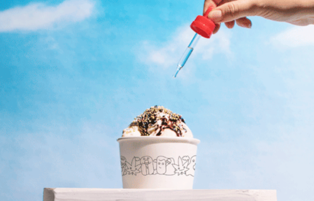 You'll probably want to sneak out of work on Friday to try this 4/20-approved sundae