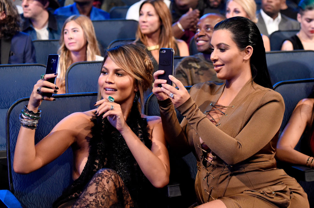 Kim Kardashian and Chrissy Teigen tried to decipher Kanye's latest tweet, and LOL