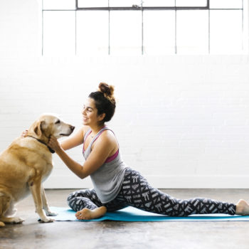 """""""Dog yoga"""" is here to help you and your furry BFF unwind"""