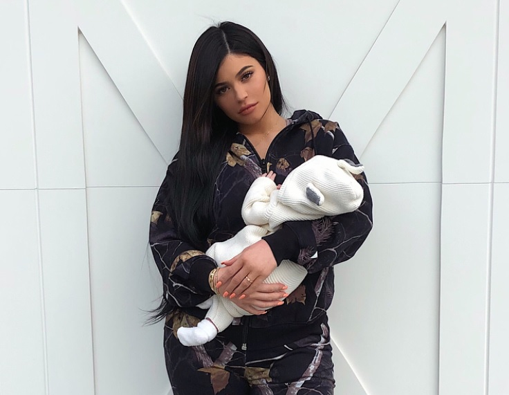 Kylie Jenner shared the most candid videos of baby Stormi yet, and yes, there was a teddy bear filter