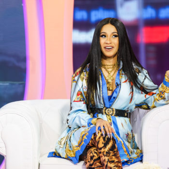 """Cardi B says her fiancé Offset came up with their baby's """"tricky"""" name"""