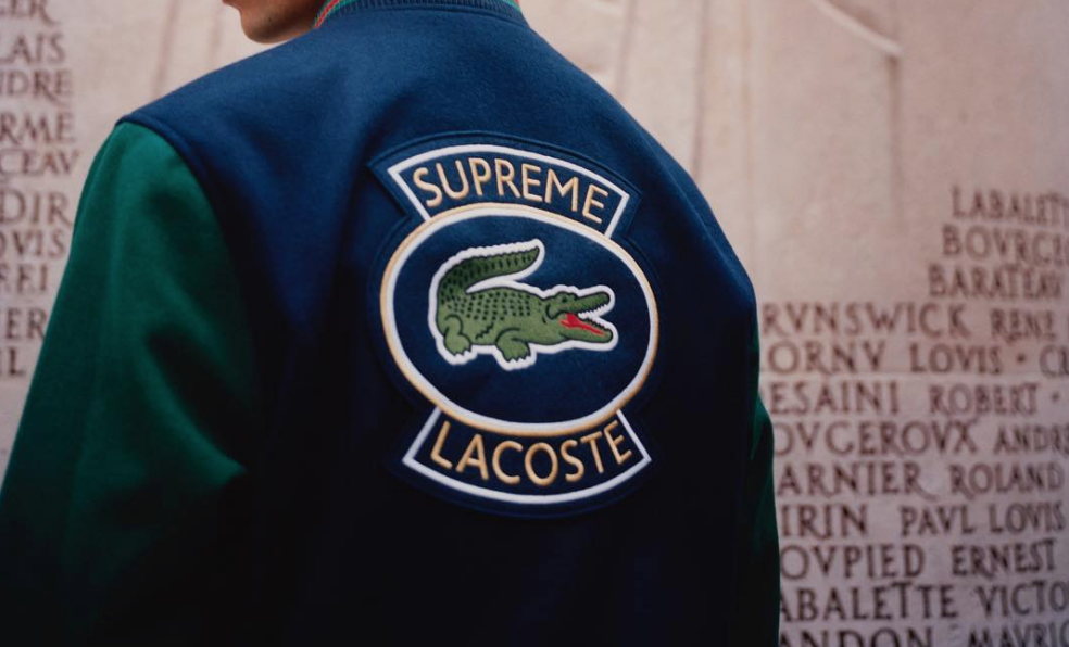 supreme x lacoste spring collection dropped today but we have bad