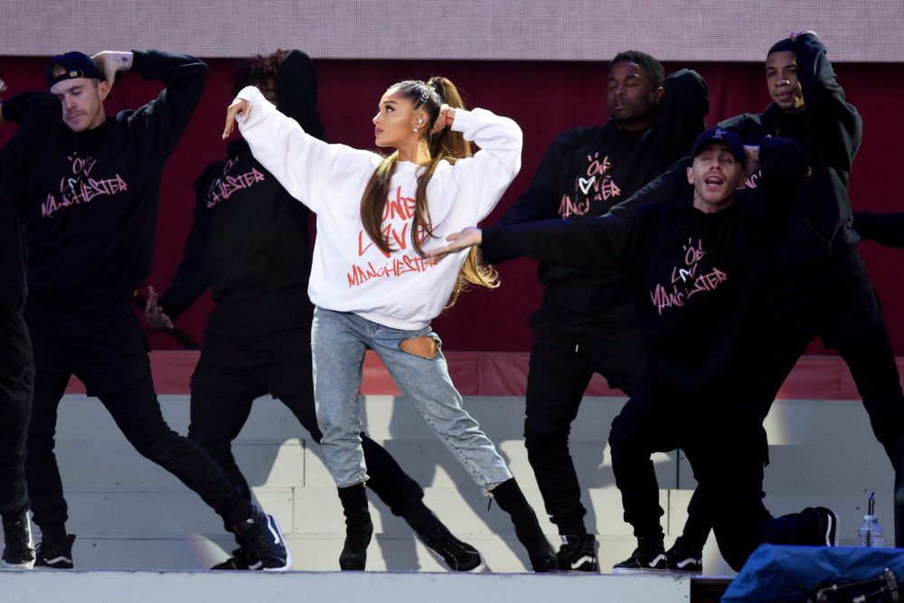 Ahead of dropping new music, Ariana Grande has moved her iconic ponytail, and this is not a drill