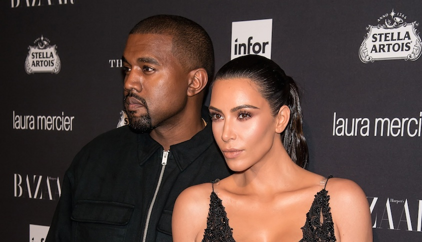 Kim making out with Kanye at Kourtney's birthday party will remind you love is real