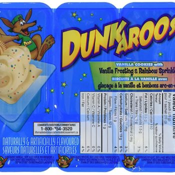 Where to buy Dunkaroos now that they come with chocolate hazelnut cream