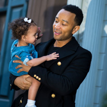 John Legend opened up about Luna being a big sister, and he sounds just like any other adorably nervous dad