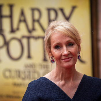 "J.K. Rowling apparated to Broadway to surprise the cast and crew of ""Harry Potter and the Cursed Child"""