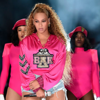 A tech guy messed up during Beyoncé's second Coachella performance, but Queen Bey saved the day