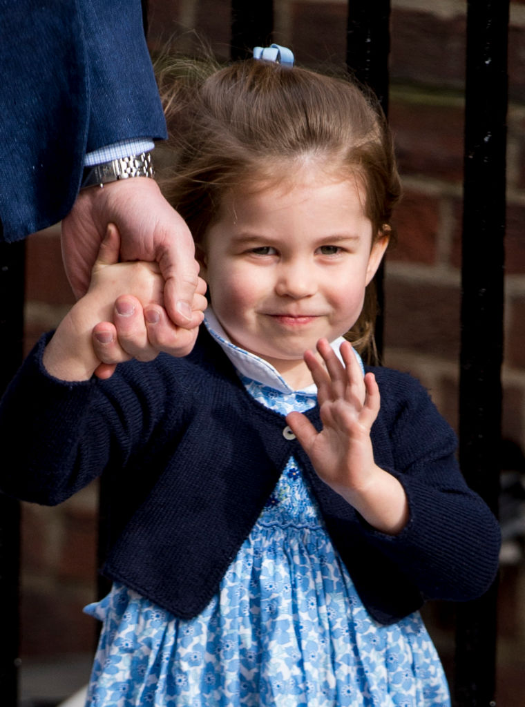 See Princess Charlotte And Prince George On Their Way To