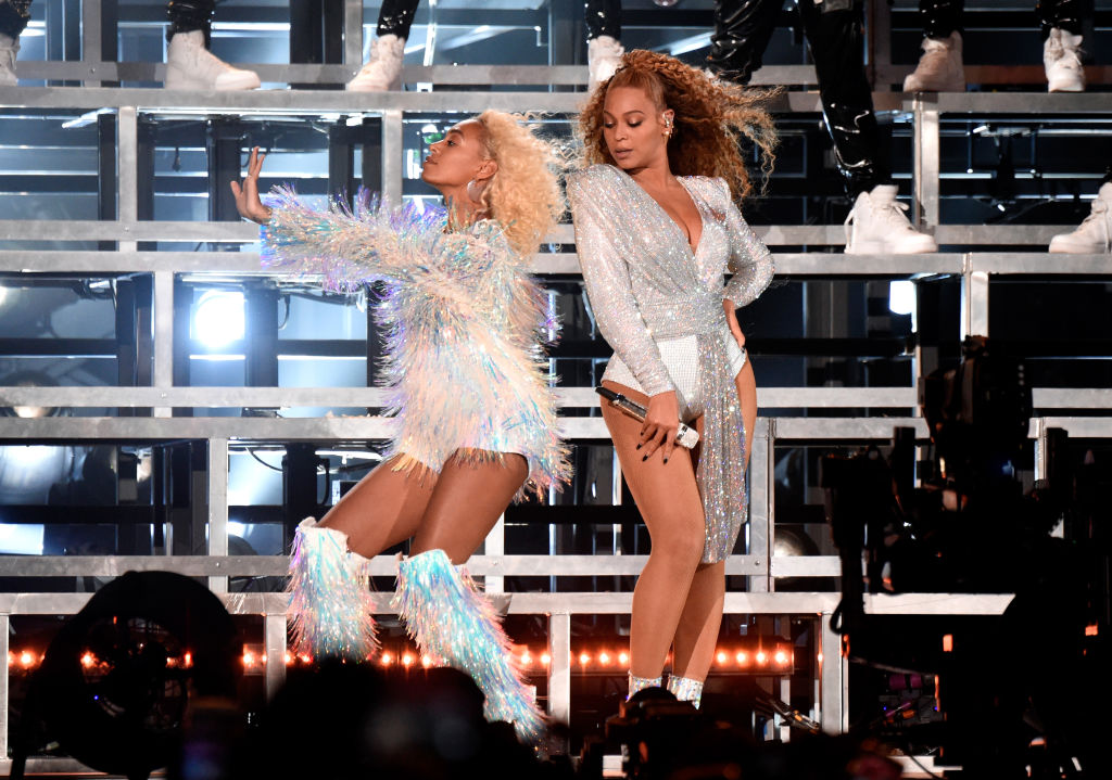 Beyoncé and Solange fell onstage at Coachella, and it became a highlight of the set
