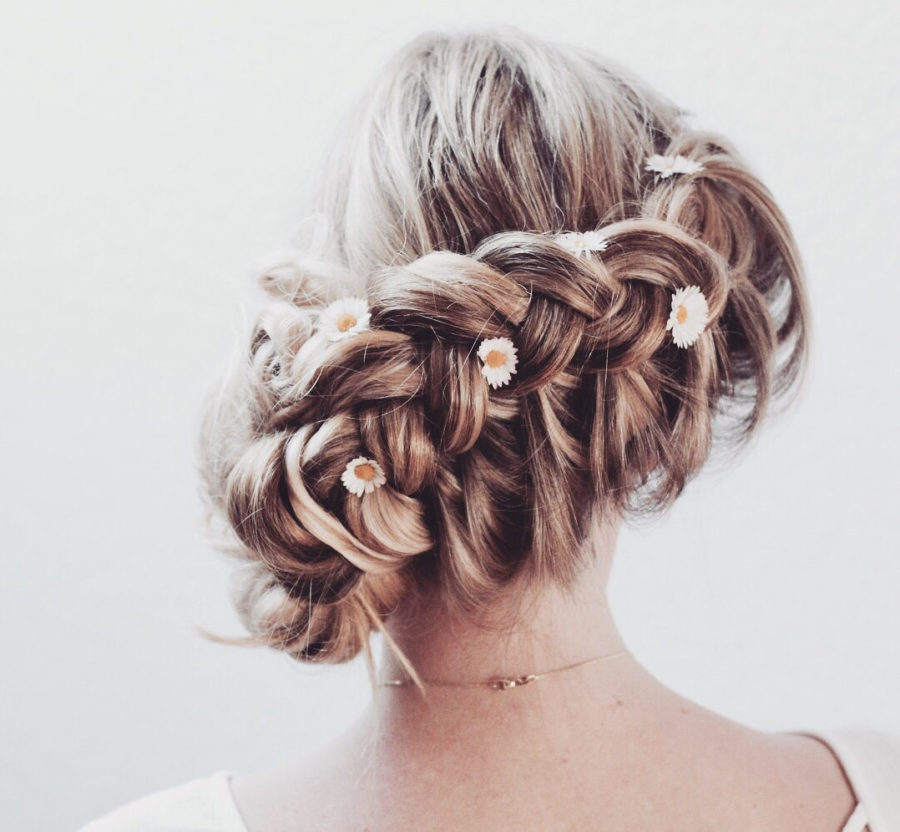The rose braid is the spring hair trend we've been waiting for