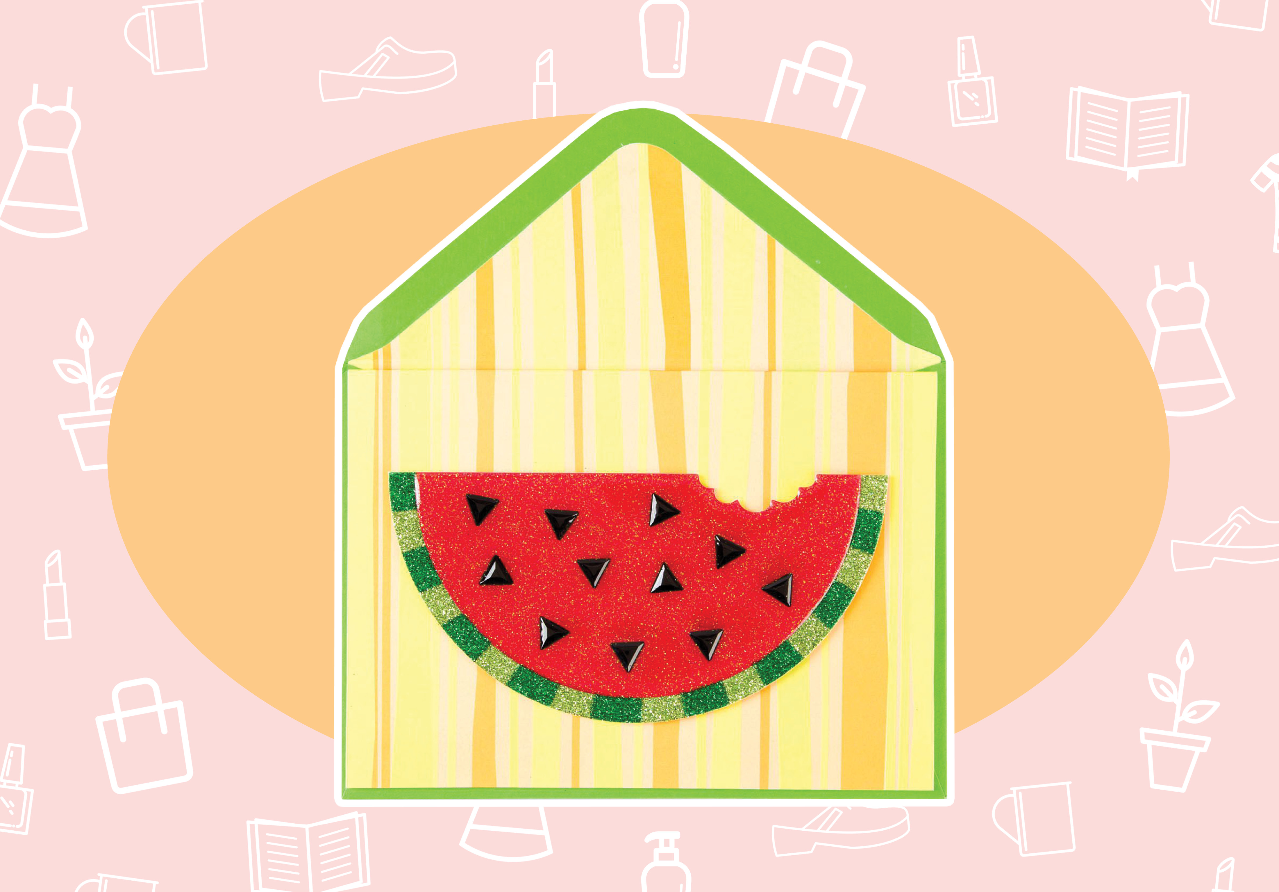 WANT/NEED: A watermelon card (because snail mail is the best mail!), and more stuff you want to buy