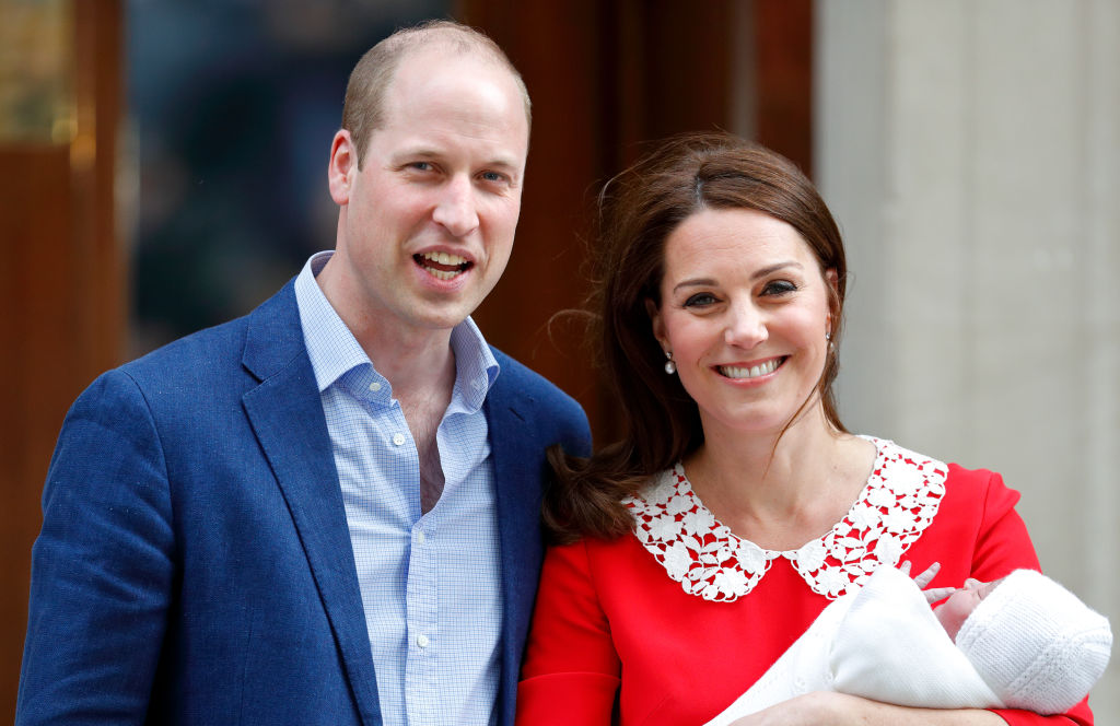 You probably missed this tear-jerker detail in photos of Prince William and Kate Middleton leaving the hospital