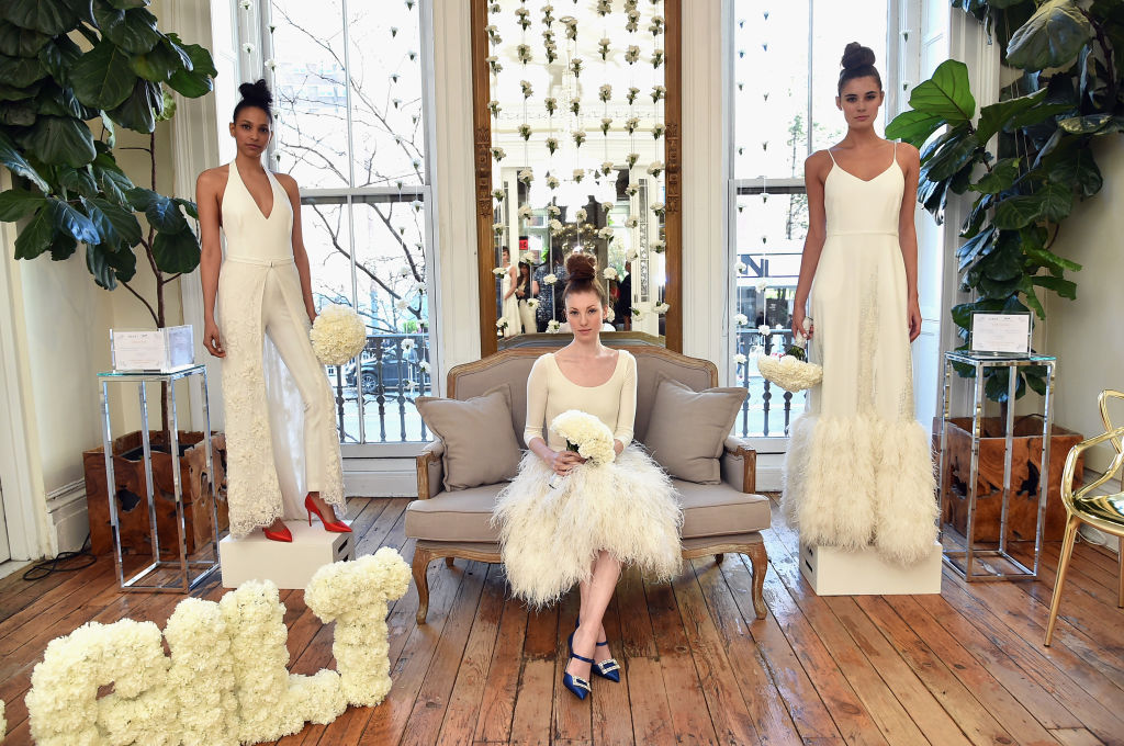 Sarah Jessica Parker's new wedding dress collection is for the no-frills, minimal-chic bride — aka Miranda meets Charlotte