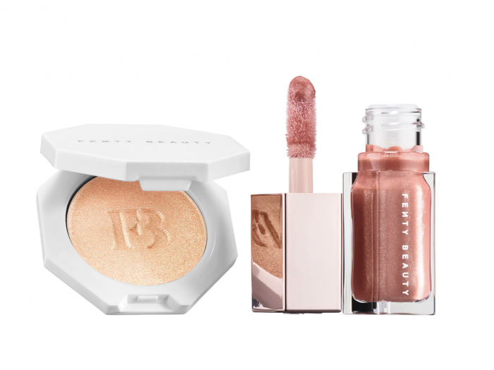 fenty mini face lip set, mothers day gifts