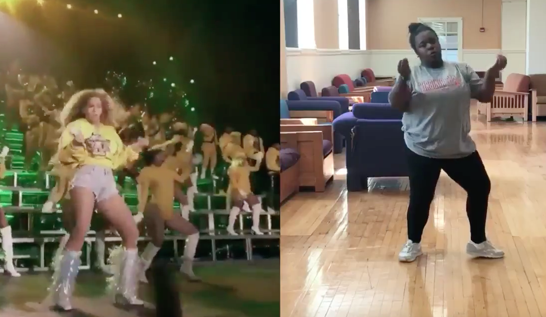 This girl perfectly learned Beyoncé's Coachella dance in 40 minutes, and prepare to be blown away