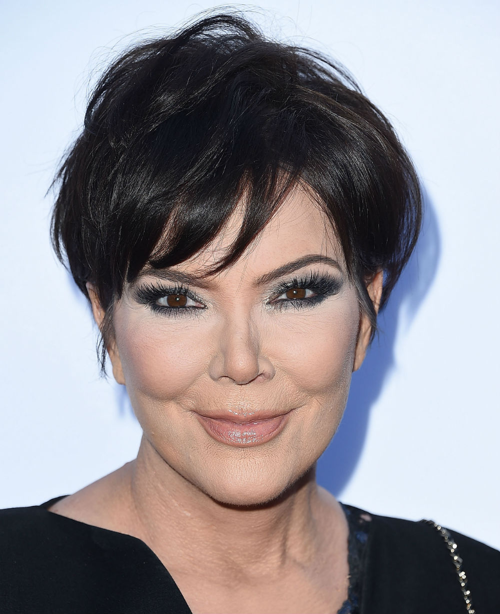 "Kris Jenner shut down rumors that she and Kanye West had an ""explosive"" fight, because she's a #BOSS"