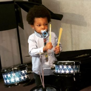 This video of an amazingly talented toddler drummer will make you feel inadequate