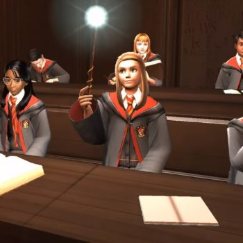 You can apparently date in the <em>Hogwarts Mystery</em> game, and we're intrigued