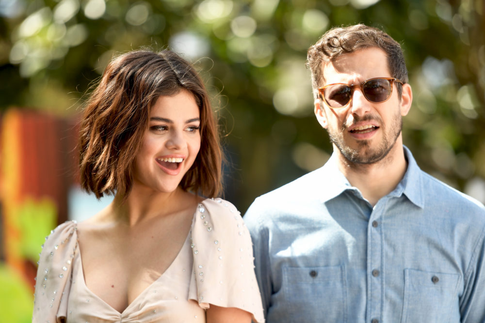 Andy Samberg sent Selena Gomez a bunch of sick beats for her new album, and this is the music collab we deserve