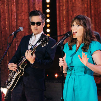 She & Him just dropped a powerful pro-LGBTQ ballad, and hold on, we've got something in our eye