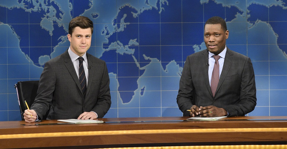 Colin Jost and Michael Che are hosting the 2018 Emmys, but THEY'LL NEVER BE TINA AND AMY