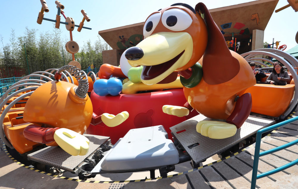 Disney just opened a brand new Toy Story Land, and the pictures are taking us to infinity and beyond