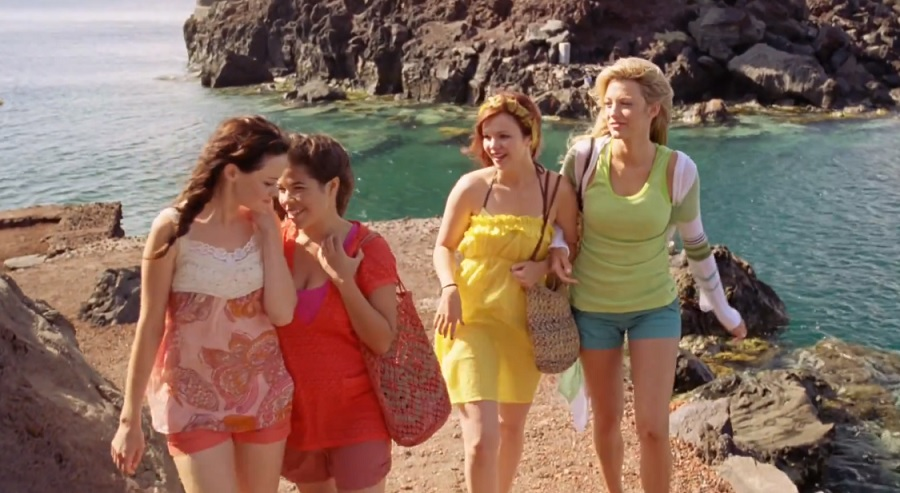 Alexis Bledel says <em>Sisterhood of the Traveling Pants 3 </em>has officially been pitched, and we're crossing our fingers and toes