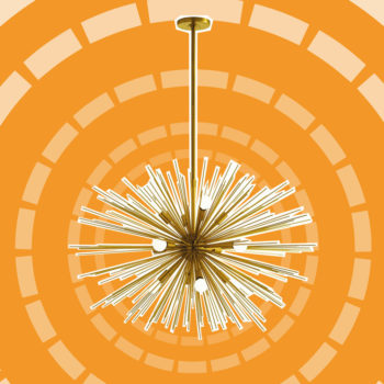 Celestial light fixtures are the home decor trend for those with their head in the stars