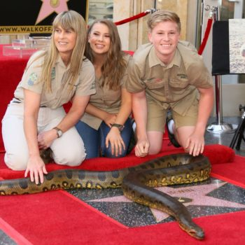 Steve Irwin's Hollywood star was unveiled, and Bindi's speech will make you cry