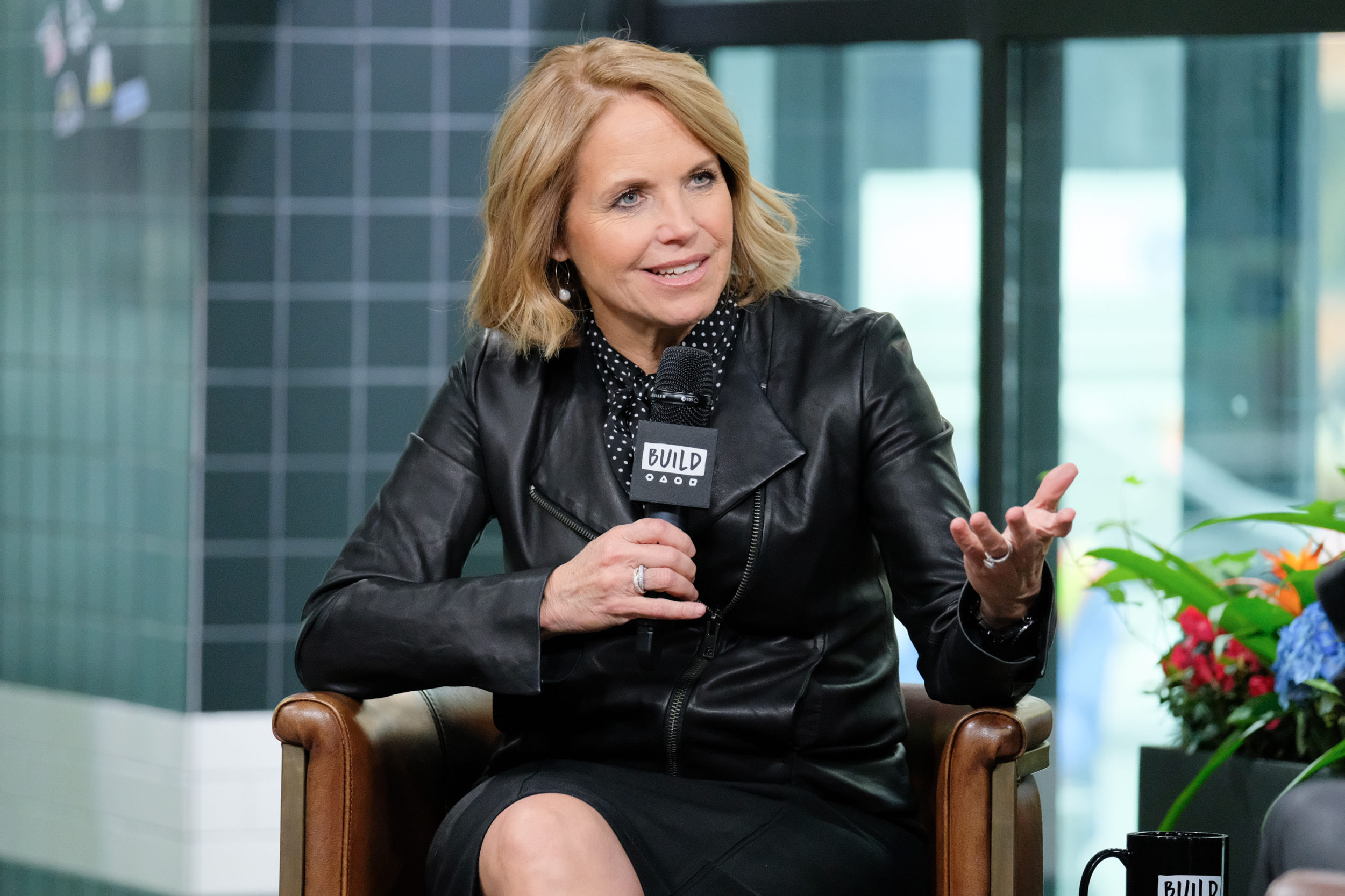 Katie Couric's hilarious throwback video proves there *was* a time before the internet existed