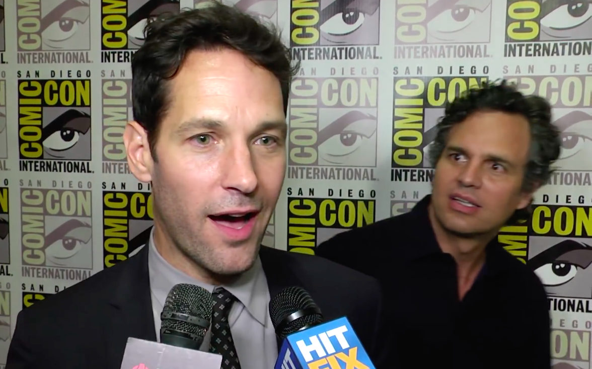 Paul Rudd just recreated a classic Mark Ruffalo meme, because we all deserve nice things