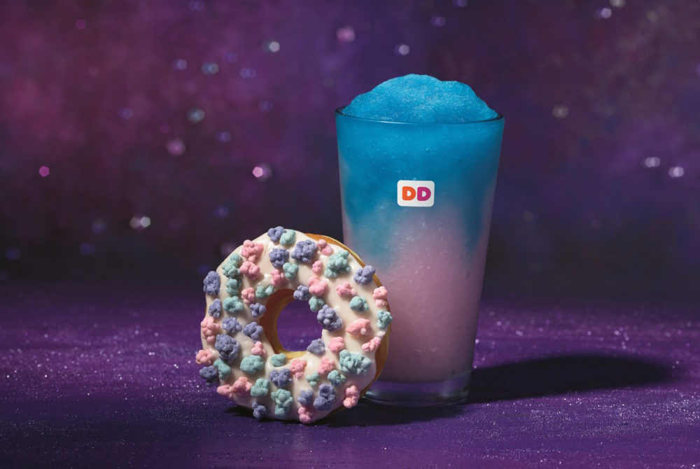 Dunkin' Donuts now has a galactic cotton candy drink that's sure to make your day out of this world