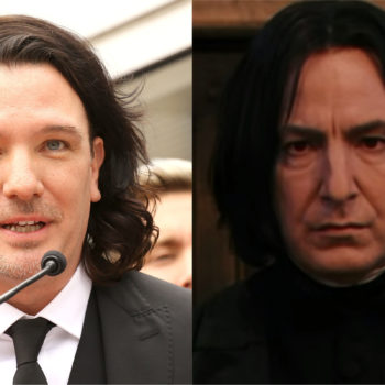 Twitter thinks J.C. Chasez looks like Professor Snape, and five points from Gryffindor for being insufferable know-it-alls