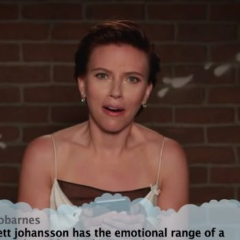 Scarlett Johansson, Chris Evans, Paul Rudd, and the rest of the <em>Avengers: Infinity War</em> cast read mean tweets about themselves
