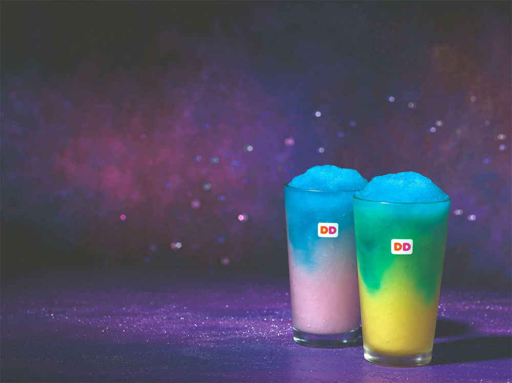 Dunkin' Donuts released a new drink that bears a striking resemblance to Starbucks' Unicorn Frappuccino