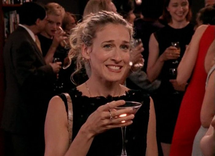 Sarah Jessica Parker picked up the tab on a fan's cosmo at a bar, and Carrie Bradshaw would be proud
